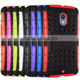For MOTO X PLAY XT1561 XT1562 Armor CASE Heavy Duty Hybrid Rugged TPU Impact Kickstand ShockProof CASE 2 IN 1 CASE