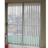 Manual Control Fabric Vertical Blinds Office Window Blinds