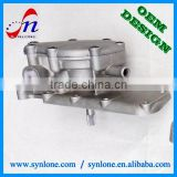 customized aluminum water pump housing