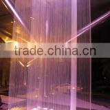 2016 New style waterfall graphical digital water curtain fountain
