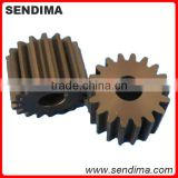 OEM precision POM cnc lathe turning machined gear parts