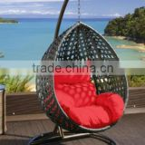 Egg Pod Swing Chairs Water Drop Shaped Rattan egg wicker rattan swing hanging egg chair