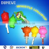 Cartoon Toy Fruit Whistle Lollipop Candy