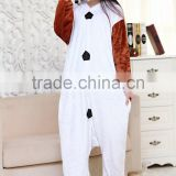 Adult Romper Sets Onesie Olaf Pattern Plus Size Flannel Pajamas In Best Price