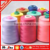 hiana thread2 ISO 9001:2000 certufucation Sew Good 100% spun polyester sewing thread 40/2