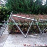 Titanium Cyclocross Bike Frame With Coupler Titanium Bike Frame With S&S Coupler Titanium Racks