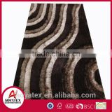 3D multi strucure rug shaggy carpet/rug Chinese knot shaggy carpet/rug