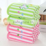 stock lots embroidered baby hand towel size 30*60cm