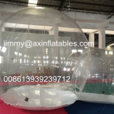 cheap price outdoor commercial transparent inflatable camping tent,clear inflatable bubble tent