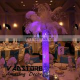 LED Glass vase wedding table centerpiece lighted vase centerpiece table party wedding decor