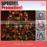 Sliver Glitter Santa clause shaped christmas tree decoration