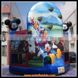 Inflatable bouncer castle, inflatable mickey jumper castle, inflatable air trampoline