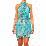 sarong polyester low price beach wear india
