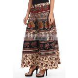 Trendy Indian Bagru Print Printed Cotton Palazzo pant for Women
