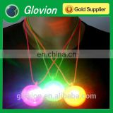 Best sell LED lanyard neck strap glow in the dark