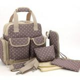 good selling full printed diaper bag with tote handle from  China