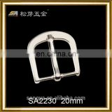 Durable High Grade 20mm Leather Watch Strap Buckle, Zinc Alloy Watch Pin Buckle