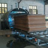 HF Power Vacuum Timber Drying Kilns Wood Dryer Machine 4.5CBM