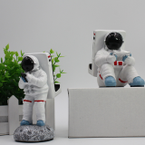 Creative spaceman mobile phone holder custom