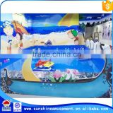 2015 Hot in market!!! coin operated management radio remote control boat for kids amusement equipment
