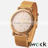 Wholesale Cheap 2015 NEW Arrival Watch Watch Men Stainless Steel Strap Mesh Band Casual Watch