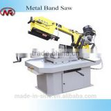 G250B scissor type semi automatic horizontal 250mm metal-cutting bandsaw with swivel head