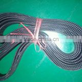Real picture DA-HTD-8M-3880 double side rubber timing belt