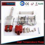 Industrial electric plugs and sockets for band heater