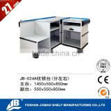 JIABAO JIEBAO electric boutique high quality convenience store checkout Cashier Counter