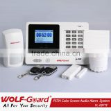 security equipment ! Wireless pstn telephone line security intercom alarm system, FCC, CE certificates