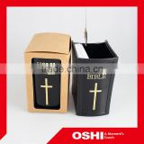 ABS material pen holder, good quality and fashion cute plastic fancy pen holder , customized logo available