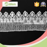 Dyeable garment accessories grid pattern fabric chemical lace                                                                                                         Supplier's Choice