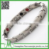 Fashion men magnetic jewelry gift wholesale stainless steel negative ion bracelet with germanium                                                                         Quality Choice