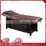 beauty salon equipment professional Wooden portable foldable folding massage table couch bed massage bed facial bed