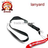 Black ID Card/ Cell Phone Neck Strap Lanyard 57cm