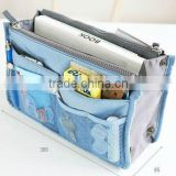 Women Insert Handbag Organiser Purse Large liner Organizer Bag Tidy travel bag in bag                                                                         Quality Choice