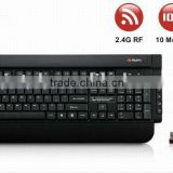 2016 new model promotion cheap with battery 2.4g backlit wireless mouse and keyboard combo