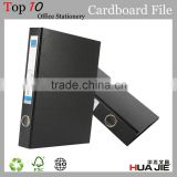 Wholesale 3 ring binder paper cardboard lever arch file type / board clip file / document folder / portfolio