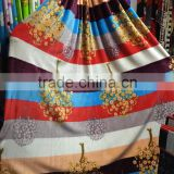 Home Textile Polyester Fabric Make-To-Order Printed Flannel Fabric For Blanket