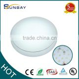 12W/15W/18W/24W SAA,CE plastic ceiling light covers,surface mounted led ceiling light,hotel corridor wall lights