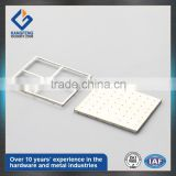 two pieces stamping metal SMD RF EMI pcb shield cover frame