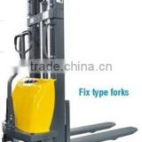 Semi-electric Stacker of fix type forks