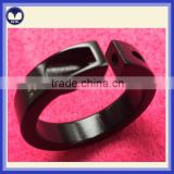 Black hard anodized aluminum CNC turning parts                                                                                                         Supplier's Choice