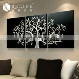 2014 3d resin relief wall painting wall decorative for acrylic painting abstract modern tree