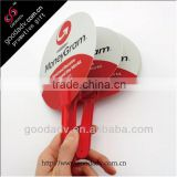 Summer Promotional Gifts print your own logo Advertising fan eco-friendly plastic hand fan