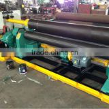 manufacturer of machinery mobile roller levels on three-roll bending machine rolling forming machine W11S 75*2500