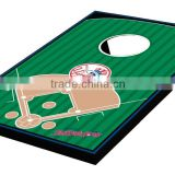 professional wooden corn hole toss game for outdoor game and garden games with sand bag