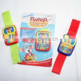 Wholesale ABS plastic cartoon funny children toy watch, baby toy watch, kids toy watch