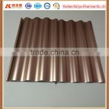 bronze Color aluminum Roller Shutter For Commercial Shop