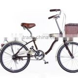 20 INCH RETRO LADY CITY BIKE/BEACH CRUISER GIRLS BIKE /SINGLE SPEED